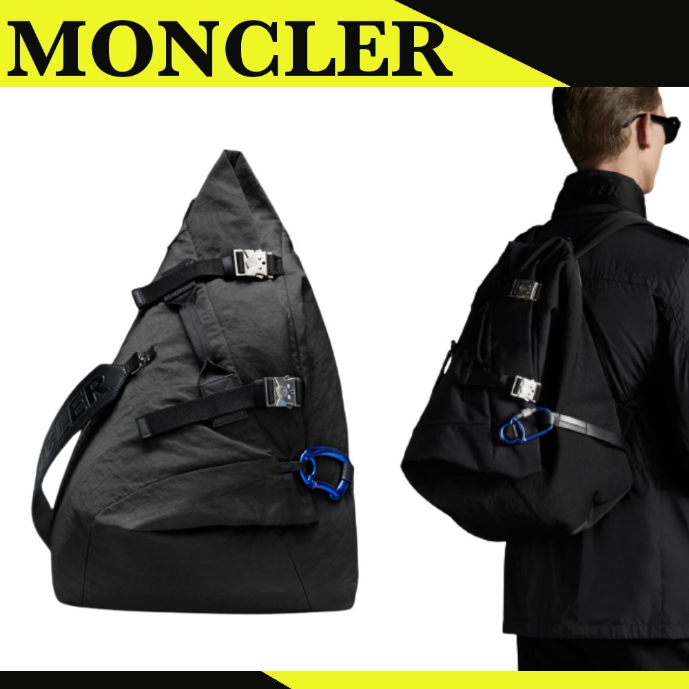 【MONCLER】Thunder*バックパック*ブラック*ナイロン (MONCLER/バックパック・リュック) G109A5A7070002SSX