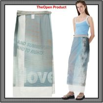 [TheOpen Product] MAXI WRAP SKIRT★人気★