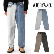 【AJO AJOBYAJO】Twofold Washed Jeans