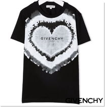 GIVENCHY(ジバンシィ) キッズ用トップス 21aw★GIVENCHY ハートプリントTシャツ/14Y 大人OK【関税込】