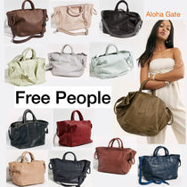 ★Free People★Leslie Leather Tote レザー 2WAY トートバッグ