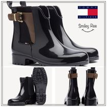 【Tommy Hilfiger】BUCKLED ANKLE WELLIES*レインブーツ