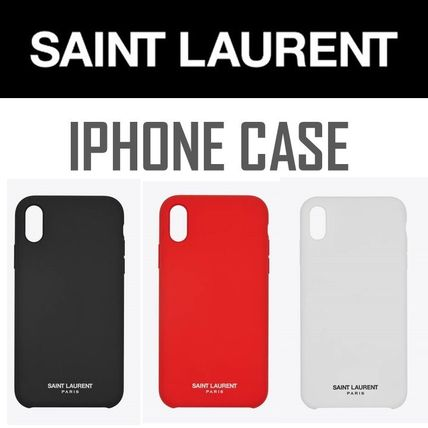 YSL*SAINT LAURENT//iPhoneケース//WITH THE SIGNATURE/br