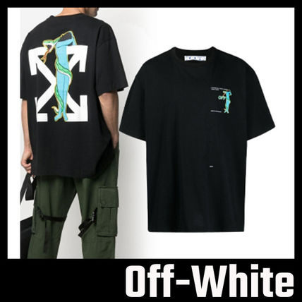 【Off-White】ADAM IS EVE OVERSIZED Tシャツ