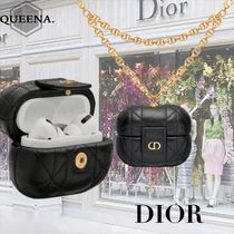 【DIOR】DIOR CARO AIRPODS PROケース チェーン DIORモチーフ