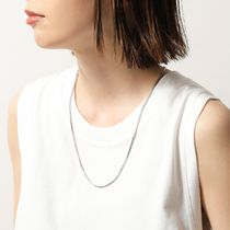 TOMWOOD ネックレス N01019VBX01S925 Square Chain
