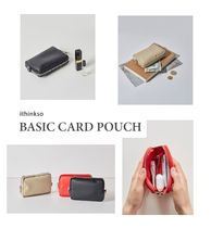 ithinkso(アイシンクソー) ファッション雑貨・小物その他 ITHINKSO BASIC CARD POUCH (3color) ポーチ
