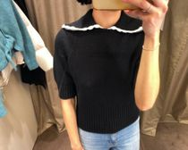 """& Other Stories(アンドアザーストーリーズ) ニット・セーター """"& Other Stories""""セール☆Collar Wool Knit Sweater(在庫あり)"""