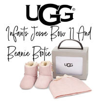 【UGG】INFANTS JESSE BOW II AND BEANIE BOOTIE セット