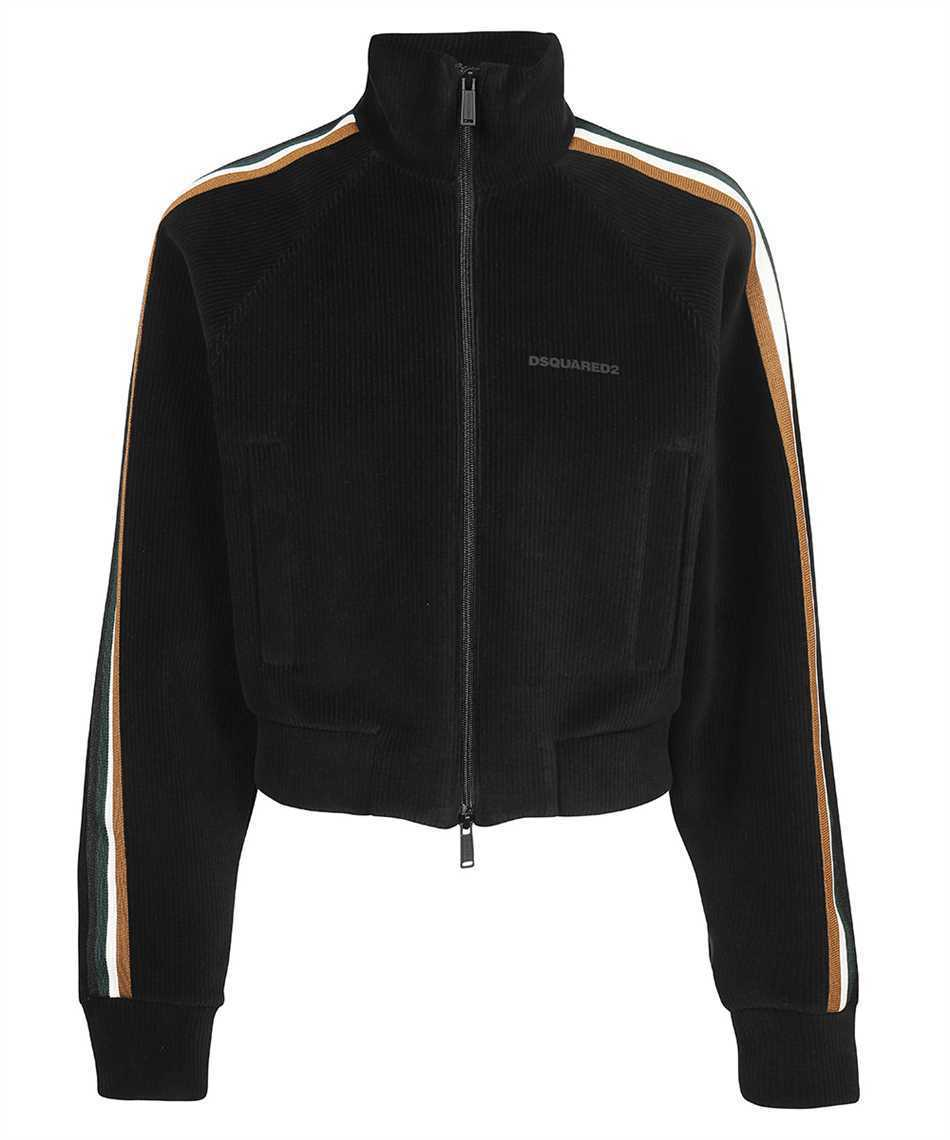 【21AW】Dsquared2 S75HG0071 S23970 LINE TRACK ZIP Sweatshirt (D SQUARED2/スウェット・トレーナー) S75HG0071 S23970 963