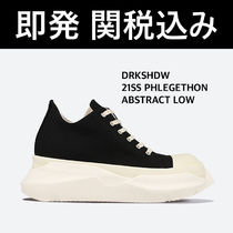 ★DRKSHDW ABSTRACT SOLE LOW SNEAKERS スニーカー