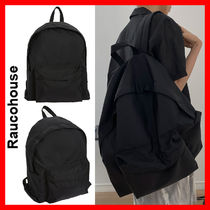 Raucohouse(ラウコハウス)★ BLACK Oxford Backpack