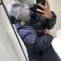 MONCLER(モンクレール) キッズアウター 確保済☆大人もOK【MONCLER】人気 ABELLE ファー付 (NAVY/14A)
