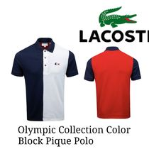LACOSTE(ラコステ) メンズ・トップス 新作【LACOSTE】Olympic Collection Colour Block Pique Polo