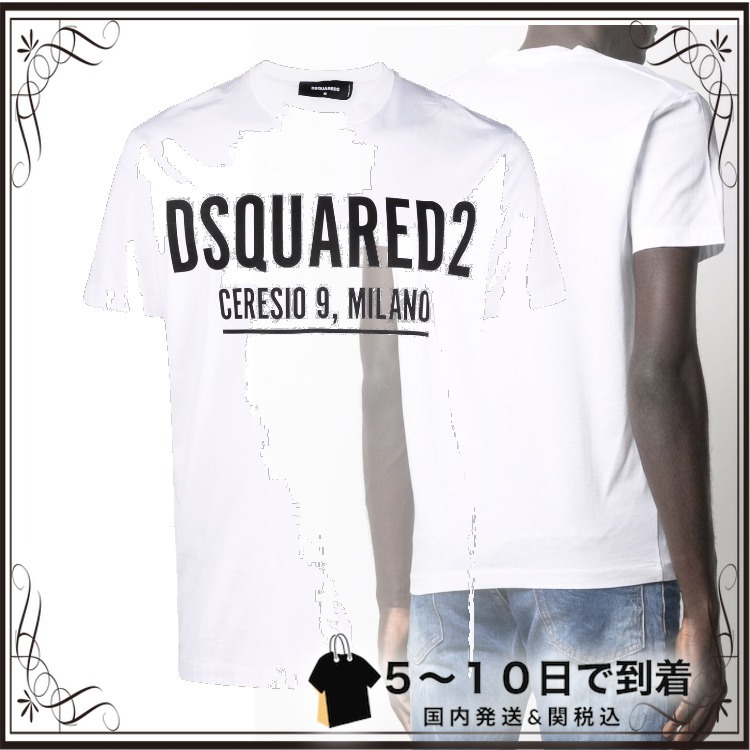 ☆SALE☆ロゴ Tシャツ (D SQUARED2/Tシャツ・カットソー) S71GD1058S23009