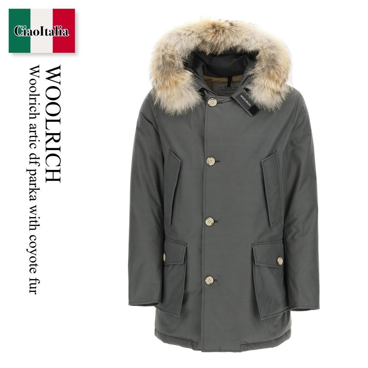 Woolrich artic df parka with coyote fur (WOOLRICH/ブルゾン) WOOLRICH ARTIC DF PARKA WITH COYOTE FUR  CFWOOU0482 MRUT0001  CFWOOU0482 MRUT0001 GSH