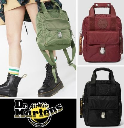 【Dr. Martens】スモール バックパック SMALL NYLON BACKPACK