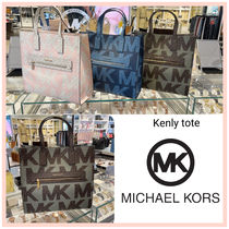 [MICHAEL KORS] トートバッグ A4収納可能♪ KENLY LARGE