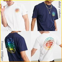 Tommy Jeans * フロントバックプリントロゴTシャツ_2色