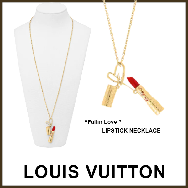 ☆21AW限定★LOUIS VUITTON★ネックレス Lip Stick Fallin Love (Louis Vuitton/ネックレス・ペンダント) 71292398
