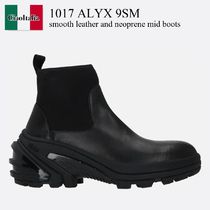 ALYX(アリクス) ブーツ 1017 Alyx 9Sm smooth leather and neoprene mid boots