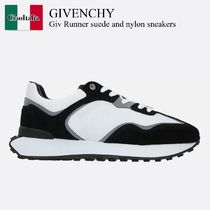 Givenchy Giv Runner suede and nylon sneakers