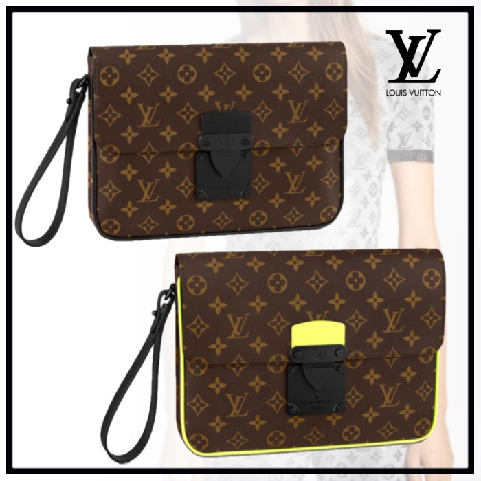 【 Louis Vuitton 】A4Sロックポーチ クラッチバッグ MONOGRAM (Louis Vuitton/バッグ・カバンその他) M80560  M80774