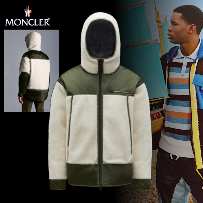 MONCLER(モンクレール)Goustan リバーシブルブルゾン 21AW WHT (MONCLER/ブルゾン) G20911A00048809BY