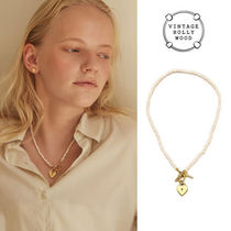 VINTAGE HOLLYWOOD(ヴィンテージハリウッド) ネックレス・ペンダント 【VINTAGE HOLLYWOOD】TWICEナヨン愛用★OYH Pearl Necklace