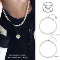 VINTAGE HOLLYWOOD(ヴィンテージハリウッド) ネックレス・ペンダント 【VINTAGE HOLLYWOOD】ジェニー着用★Natural Pearl Necklace