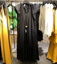 """""""COS"""" DRAPED BELTED DRESS Black"""