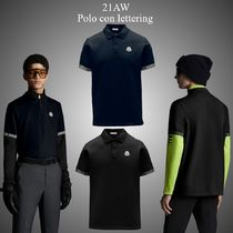 21AW★新作★MONCLER★Polo con lettering ポロシャツ