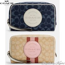Coach(コーチ) メイクポーチ 国内発送【COACH】Dempsey Boxy Cosmetic Case 20