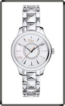 【DIOR】VIII Mother of Pearl Diamond Dial Stainless