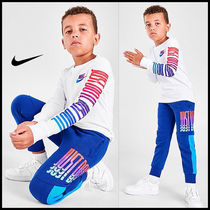 """★Nike★ キッズ """"Just Do It"""" ロングスリーブ Tシャツ 4〜7歳"""