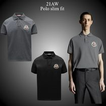 21AW★新作★MONCLER★Polo slim fit コットン ポロシャツ