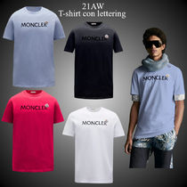 21AW★新作★MONCLER★T-shirt con lettering コットン Tシャツ