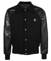 【21AW】Givenchy BM00QH611V 4G MIX WOOL CALF LEATHER Jacket