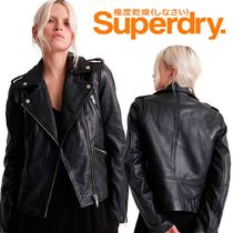 Superdry(極度乾燥しなさい)(Superdry(極度乾燥しなさい)) レザージャケット・コート 日本未入荷♦Superdry Classic Leather Jacket