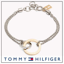 UK発★Tommy Hilfiger 'LINKED CIRCLE' ブレスレット