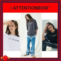 ATTENTIONROW(アテンションロー) Tシャツ・カットソー [ATTENTIONROW] Frazzle Overfit Short Sleeve T-shirt/追跡付