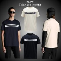 21AW★新作★MONCLER★T-shirt con lettering メンズ Tシャツ