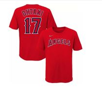 【Angels official gear】Name&NumberTシャツ大人もok☆送料込♪