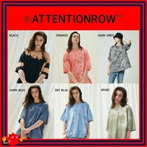 ATTENTIONROW(アテンションロー) Tシャツ・カットソー [ATTENTIONROW] Marble Dying Sahara Short T-shirt/6色/追跡付
