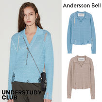 ANDERSSON BELL(アンダースンベル) ブラウス・シャツ 【ANDERSSON BELL】3-7日お届け / ERICA DAMAGE LINEN KNIT