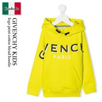 GIVENCHY(ジバンシィ) キッズ用トップス Givenchy Kids logo print cotton blend hoodie