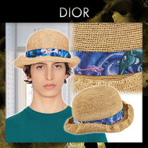 【21SS NEW】Dior_men / DIOR AND KENNY SCHARF パナマハット /