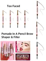 〈Too Faced 〉★2021AW★ Pomade In A Pencil Brow Shaper