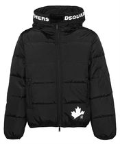D SQUARED2(ディースクエアード) ダウンジャケット Dsquared2 S74AM1129 S53817 LEAF PUFFER Jacket