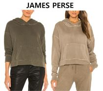 JAMES PERSE(ジェームスパース) パーカー・フーディ 期間限定セール!★JAMES PERSE★Relaxed Crop Hoodie フーディ